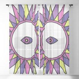(Jester) Third Eye - Seeing Eye Sheer Curtain