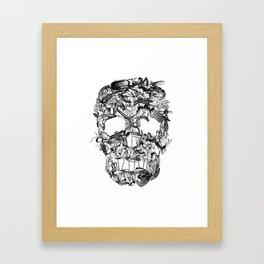 Death Nature Framed Art Print