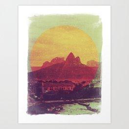 Rio de Janeiro Colours Art Print