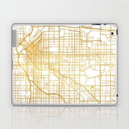 DENVER COLORADO CITY STREET MAP ART Laptop & iPad Skin