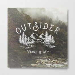 Outsider Metal Print