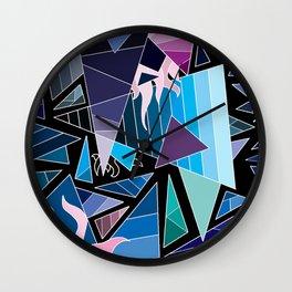 Jégcsapok tengere Wall Clock