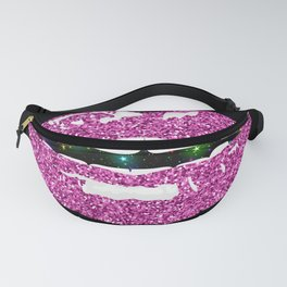 PINK GLITTERY KISS Fanny Pack