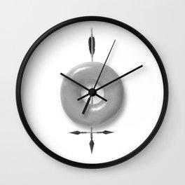 Brave spirit Wall Clock
