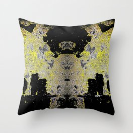 Talus Tendril Throw Pillow
