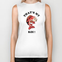 That's My Koi Biker Tank