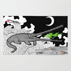 Crocodiles Rug
