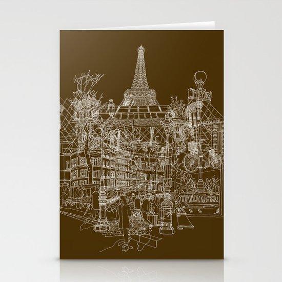 Paris! Stationery Cards