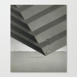 Sectioned Cube Canvas Print