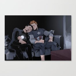 Sleepy Superheroes Canvas Print
