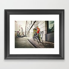 Speak Easy Framed Art Print