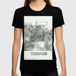 YARMAN MONSTER JEEP T-shirt