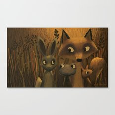 Did You Hear Something? Canvas Print