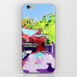Enoshima Island iPhone Skin