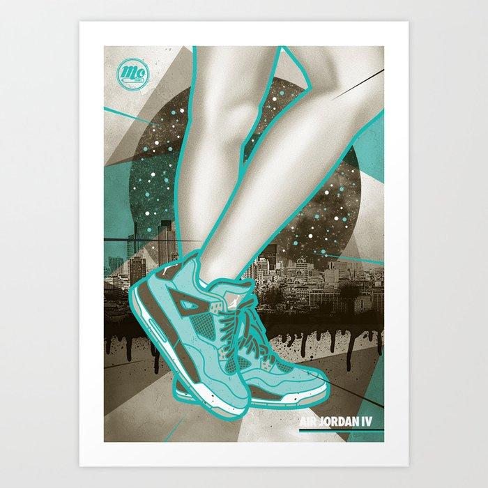 Air Jordan IV Art Print