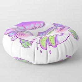 Split Spit Clear Floor Pillow