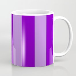 Violet Stripes Coffee Mug