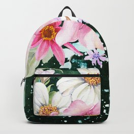 Flowers bouquet 70 Backpack