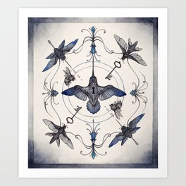 Pollinators Art Print