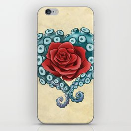 Octo Rose Love iPhone Skin