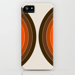 Golden Sonar iPhone Case