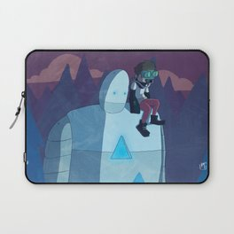 Robokid in the Forest Laptop Sleeve