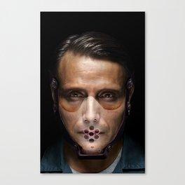 Hannibal Masked Canvas Print