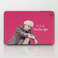 exo iPad Cases featuring EXO Chanyeol Love Me Right by Korean Zombie