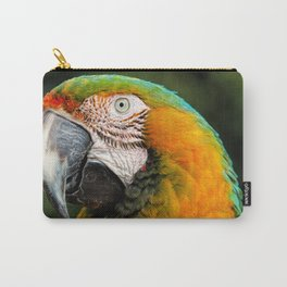 Blue Throated Macaw Carry-All Pouch