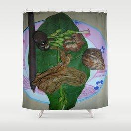 Souvenir des vacances de Lory 2009 Shower Curtain