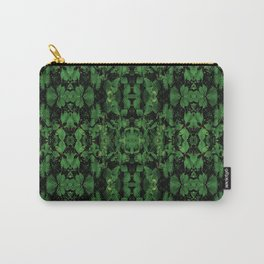 Dark Nature Collage Print Carry-All Pouch