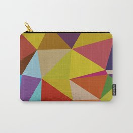 Geometric Abstract Art Pattern Ten Carry-All Pouch