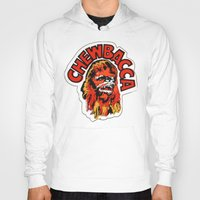 chewbacca Hoodies featuring Chewbacca by Popp Art