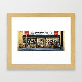 La Bonbonniere Framed Art Print