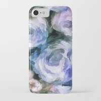 iPhone Cases featuring Blue rose.  by Fuzzyfox