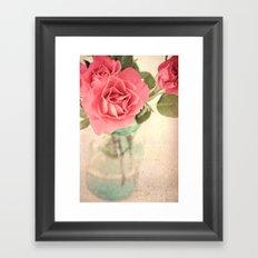 Rosy Outlook Framed Art Print