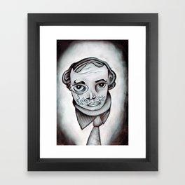 bernard likes to party Framed Art Print