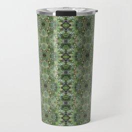 Succulent kaleidoscope Travel Mug