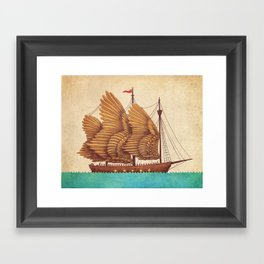 Winged Odyssey Framed Art Print