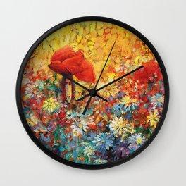 Meadow II Wall Clock