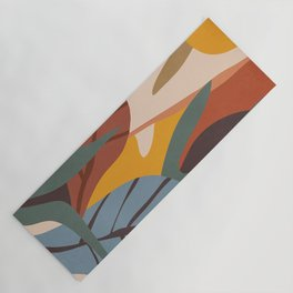 Abstract Art Jungle Yoga Mat