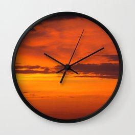 Sunrise Of God  Wall Clock