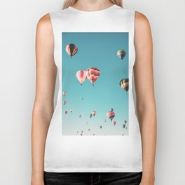 Hot Air Balloon Ride Biker Tank