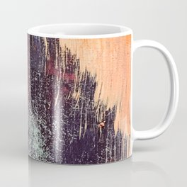 Night and Day: pretty abstract piece in orange, purple, and blues Coffee Mug