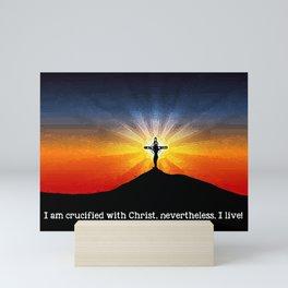 Crucified with Christ Mini Art Print