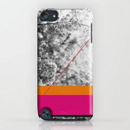 pink and orange iPhone Case