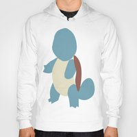 squirtle Hoodies featuring Squirtle by Kaylabeaisaflea