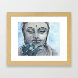 Zen Buddha Framed Art Print