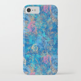 Sea Texture print iPhone Case