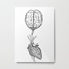 Mind over Heart Metal Print